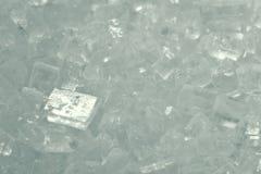 Σύσταση των κρυστάλλων ζάχαρης Στοκ φωτογραφία με δικαίωμα ελεύθερης χρήσης