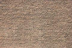 Σύσταση των κόκκινων τούβλων του αρχαίου τοίχου Pantheon στη Ρώμη Στοκ εικόνα με δικαίωμα ελεύθερης χρήσης