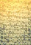 Σύσταση των παλαιών κεραμιδιών στεγών (Φιλτραρισμένος επεξεργασμένος εικόνα τρύγος Στοκ Φωτογραφίες