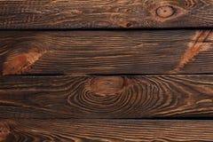 Σύσταση των πινάκων του σκοτεινού παλαιού καφετιού ξύλου στοκ εικόνα