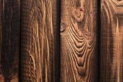 Σύσταση των πινάκων του σκοτεινού παλαιού καφετιού ξύλου στοκ εικόνα με δικαίωμα ελεύθερης χρήσης