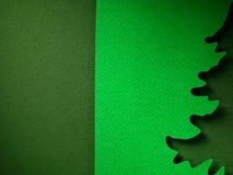 Σύσταση υποβάθρου εγγράφου Χριστουγέννων, papercraft θέμα Στοκ Φωτογραφία