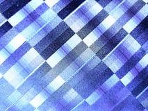 σύσταση υποβάθρου, μπλε τετράγωνα Στοκ Εικόνα