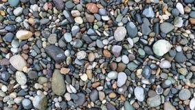 Σύσταση υποβάθρου πετρών χαλικιών στοκ φωτογραφία