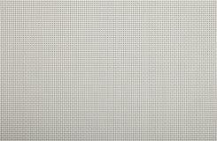 Σύσταση υποβάθρου της άσπρης πλεγμένης λυγαριά πλαστικής διπλής σειράς Στοκ εικόνα με δικαίωμα ελεύθερης χρήσης