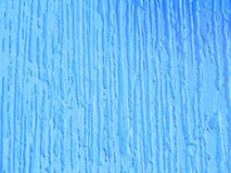 σύσταση υποβάθρου, τοίχος με το ασβεστοκονίαμα και μπλε χρωμάτων Στοκ Φωτογραφία