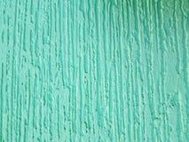 σύσταση υποβάθρου, τοίχος με το ασβεστοκονίαμα και πράσινο aquamarine χρωμάτων Στοκ Φωτογραφίες