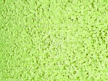 σύσταση υποβάθρου, τοίχος με το ασβεστοκονίαμα και χρώμα πράσινο Στοκ Φωτογραφία
