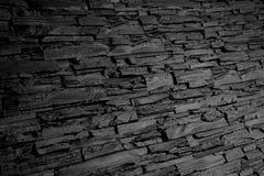 Σύσταση υποβάθρου τοίχων πετρών ξυλάνθρακα γραπτή Στοκ Φωτογραφία
