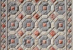 Σύσταση υποβάθρου του ασιατικού μωσαϊκού πετρών Στοκ Φωτογραφίες