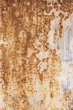 Σύσταση υποβάθρου του παλαιού σκουριασμένου χαλασμένου μετάλλου Παραμένει του πολύχρωμου χρώματος σε ένα φύλλο σιδήρου απεικόνιση αποθεμάτων