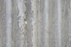 Σύσταση υποβάθρου του τοίχου του παλαιού φύλλου ψευδάργυρου, φύλλο μετάλλων με τη σκουριασμένη σύσταση, Στοκ Εικόνα
