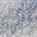 Σύσταση υποβάθρου των κρυστάλλων πάγου Στοκ Εικόνες
