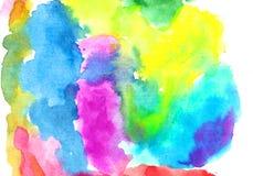 Σύσταση υποβάθρου Watercolor Στοκ Εικόνα