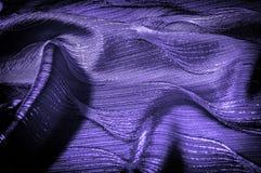 Σύσταση, υπόβαθρο, σχέδιο μπλε χρώμα υφασμάτων μεταξιού Διακοσμήστε yo στοκ φωτογραφίες με δικαίωμα ελεύθερης χρήσης