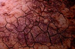 Σύσταση, υπόβαθρο, σχέδιο Ραγισμένη γη, άργιλος Αφηρημένο natu Στοκ Εικόνες