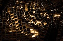 Σύσταση, υπόβαθρο, σχέδιο Ύφασμα τα μεγάλα paillettes που γίνονται με Στοκ φωτογραφία με δικαίωμα ελεύθερης χρήσης