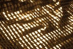 Σύσταση, υπόβαθρο, σχέδιο Ύφασμα τα μεγάλα paillettes που γίνονται με Στοκ Εικόνα