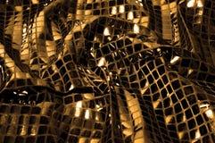 Σύσταση, υπόβαθρο, σχέδιο Ύφασμα τα μεγάλα paillettes που γίνονται με Στοκ Φωτογραφίες