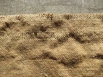 Σύσταση υφάσματος λινού Στοκ φωτογραφία με δικαίωμα ελεύθερης χρήσης