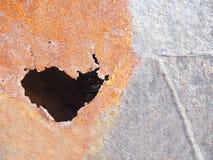 Σύσταση φωτογραφιών σκουριάς διάβρωσης - υπόβαθρο σκουριάς Στοκ φωτογραφία με δικαίωμα ελεύθερης χρήσης