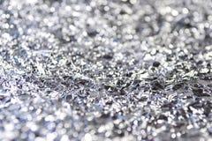 Σύσταση φύλλων αλουμινίου Στοκ Εικόνες