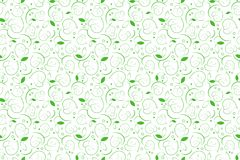Σύσταση φύλλων για το κλωστοϋφαντουργικό προϊόν floral άνευ ραφής ανασκόπησης Στοκ Φωτογραφία