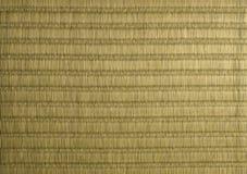Σύσταση χαλιών Tatami Στοκ Εικόνες