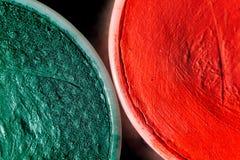 Σύσταση χρωμάτων σύνθεσης Aqua Στοκ Εικόνες