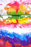 σύσταση χρωμάτων Στοκ εικόνες με δικαίωμα ελεύθερης χρήσης
