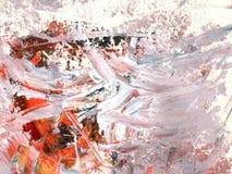Σύσταση χρώματος ελαιογραφίας Στοκ Φωτογραφία