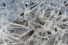 Σύσταση crysrals πάγου στοκ εικόνες με δικαίωμα ελεύθερης χρήσης