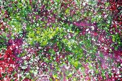 Σύσταση Faux που χρωματίζεται από το χρώμα Στοκ Εικόνα