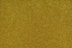 Σύσταση Glittery Ο χρυσός ακτινοβολεί έγγραφο Στοκ Φωτογραφία