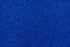 Σύσταση Glittery Το μπλε ακτινοβολεί έγγραφο Στοκ φωτογραφία με δικαίωμα ελεύθερης χρήσης