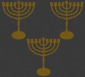 Σύσταση Hanukkah γκρίζο το 2016 απεικόνιση αποθεμάτων
