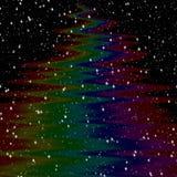 Σύσταση Milkyway με τα αστέρια, νυχτερινός ουρανός απεικόνιση αποθεμάτων