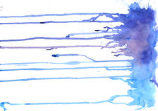 Σύσταση Watercolor των λεκέδων Στοκ φωτογραφίες με δικαίωμα ελεύθερης χρήσης