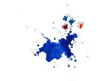 Σύσταση Watercolor των λεκέδων Στοκ εικόνα με δικαίωμα ελεύθερης χρήσης