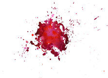 Σύσταση Watercolor των λεκέδων Στοκ εικόνες με δικαίωμα ελεύθερης χρήσης