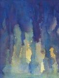 σύσταση watercolor Στοκ Εικόνες