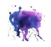 σύσταση watercolor Ελεύθερη απεικόνιση δικαιώματος