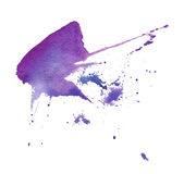 σύσταση watercolor Απεικόνιση αποθεμάτων