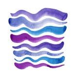 σύσταση watercolor διανυσματική απεικόνιση