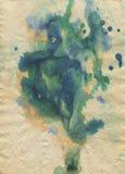 Σύσταση Watercolour Στοκ Εικόνες