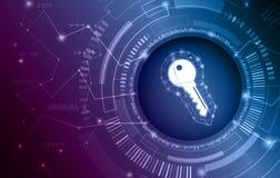 Σύστημα ασφαλείας δεδομένων, πληροφορίες ή προστασία δικτύων Ασφάλεια και προστασία δεδομένων Cyber απεικόνιση αποθεμάτων