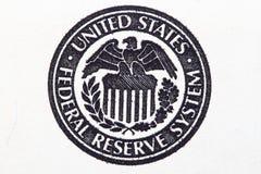 Σύστημα Κεντρικής Τράπεζας των ΗΠΑ Στοκ Εικόνες