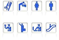 Σύστημα σηματοδότησης αερολιμένων Στοκ εικόνα με δικαίωμα ελεύθερης χρήσης