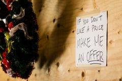 Σύστημα σηματοδότησης πώλησης γκαράζ Στοκ φωτογραφίες με δικαίωμα ελεύθερης χρήσης