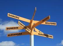 Σύστημα σηματοδότησης της Νέας Ζηλανδίας Στοκ φωτογραφία με δικαίωμα ελεύθερης χρήσης
